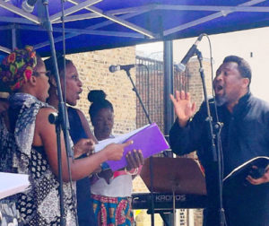 Pegasus Opera's community choir @ Brixton Tate Library | England | United Kingdom