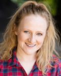 Pippa Lewis as Stoat in Wind in Willows production