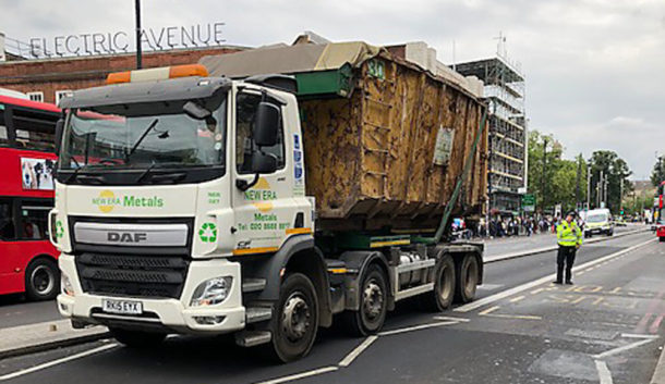 Lorry in Brixton Road