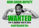 Rashid Nix campaign poster