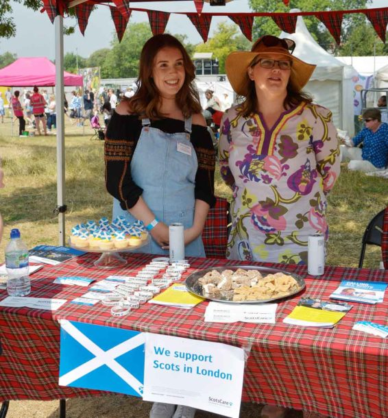 Shortbread on offer from the charity ScotsCare