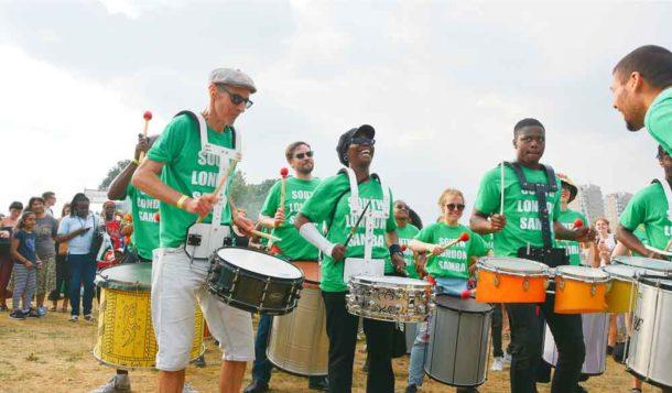 South London Samba drew crowds