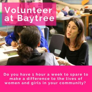 Volunteer at Baytree flyer