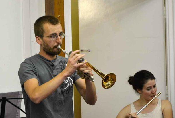 Chris Vickers plays Haydn's Trumpet Concerto III