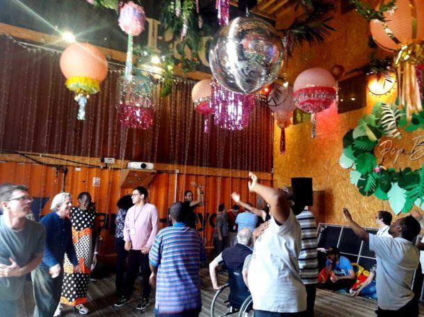 Let's Dance session in Pop Brixton's Pop Box