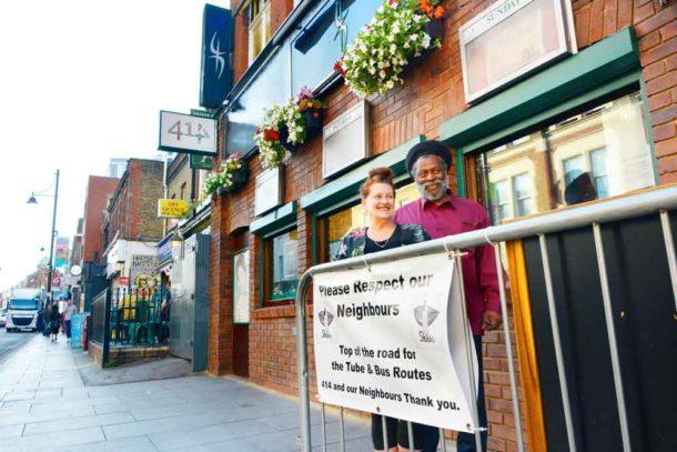 Club 414 proprietors Louise Barron and Tony Pommell
