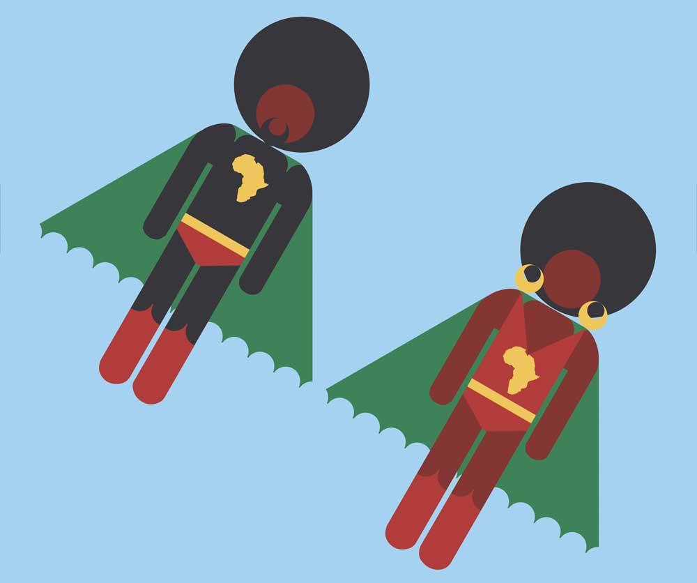 Jon Daniel's super heroes