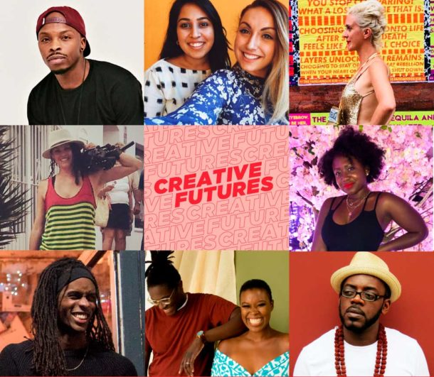 Creative Futures flyer – part of Brixton Design Trail 2018