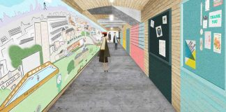 Artist impression of Herne Hill mural