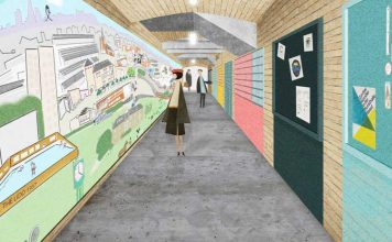Artist impression of Herne Hill mural