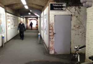 Herne Hill station underpass