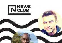Flyer for the News Club Brixton Library 11 September