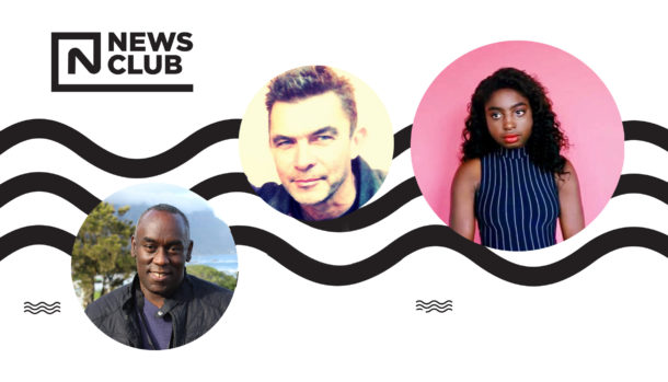 Flyer for News Club that starts 11 September in Brixton Library