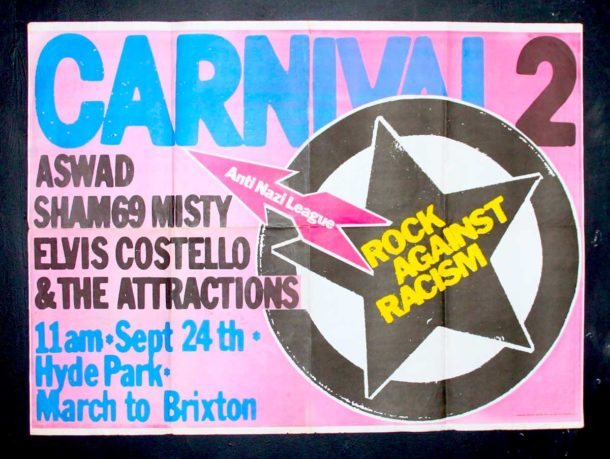1977 Rock Against Racism poster
