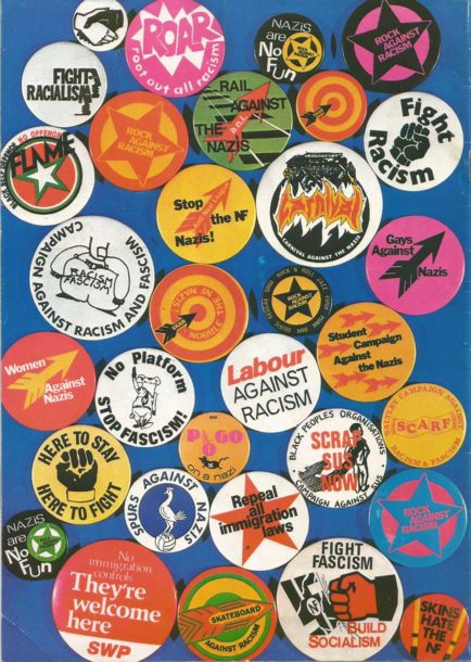 Rock Against Racism Programme Back Cover