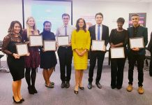 Miranda Brawn Diversity Leadership winners 2018