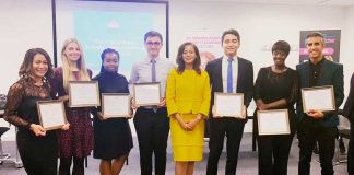 Miranda Brawn Diversity Leadership winners 2018