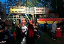 T-shirt weather at the Grove Adventure Playground Gala