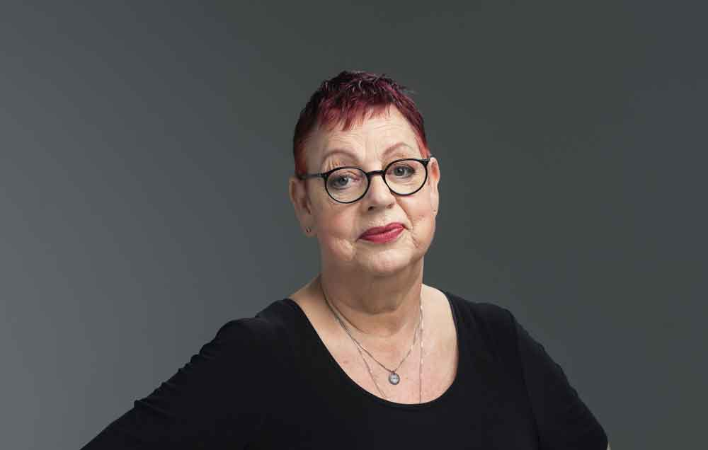 Jo Brand will be in conversation with Brenda Gilhooly in the Great Hall of Dulwich College from 8.30 pm on Friday 9 November