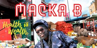 Macka B new album cover Health is Wealth