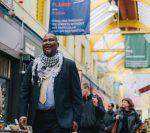 Mandela in Brixton Market