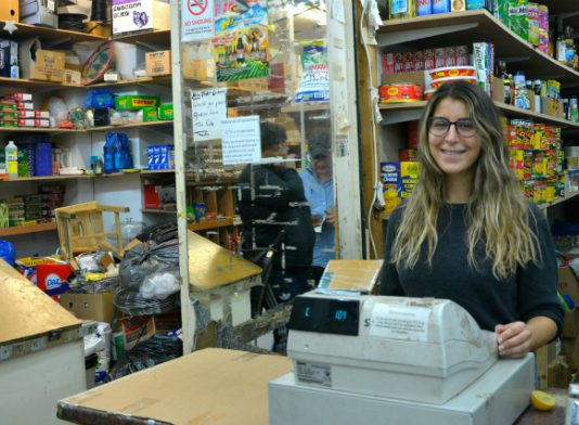 Saja Shaheen at work in Nour