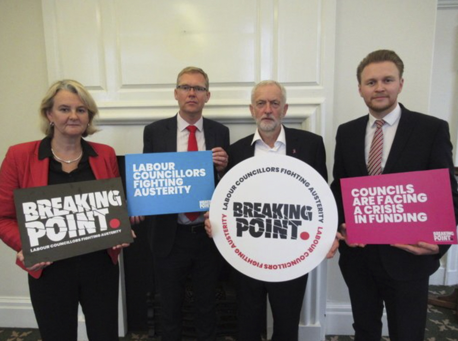 Lib Peck and Corbyn-breaking point campaign