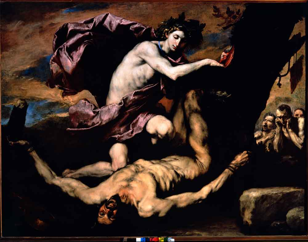 Ribera, Apollo and Marsyas