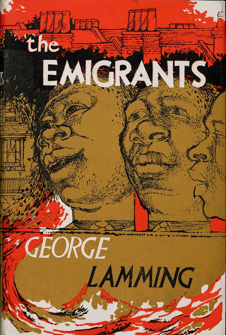 Front cover by Denis Williams for The Emigrants by George Lamming. © Denis Williams Estate.