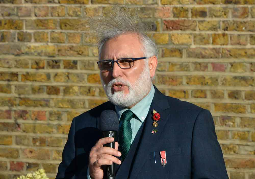 Imam Toaha Qureshi, whose father and grandfather fought in the British armed services