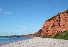 South Devon coastline