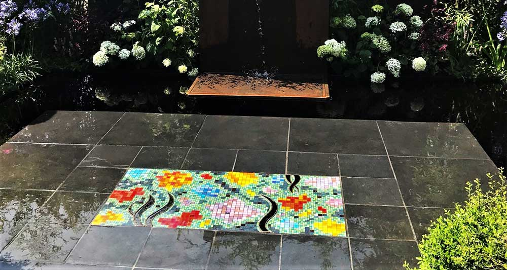 RHS Silver medal for Arts4Space Mosaic and garden