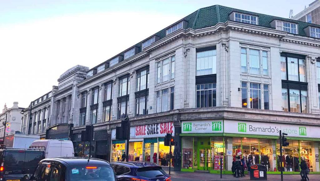 Brixton Road proposed site for new hotel