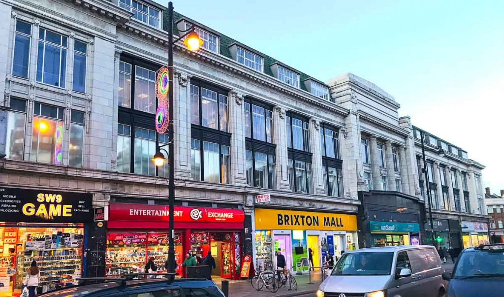 The Brixton Road site of the proposed new hotel