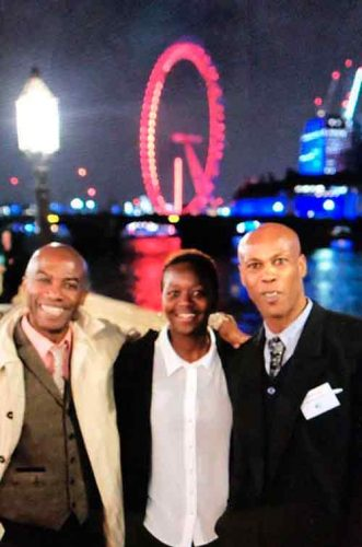 Afewee coaches on the terrace of the Palace of Westminster