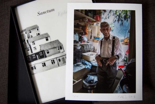 Sanctum Ephemeral - photo series of Cressingham residents book launch @ Photofusion | England | United Kingdom