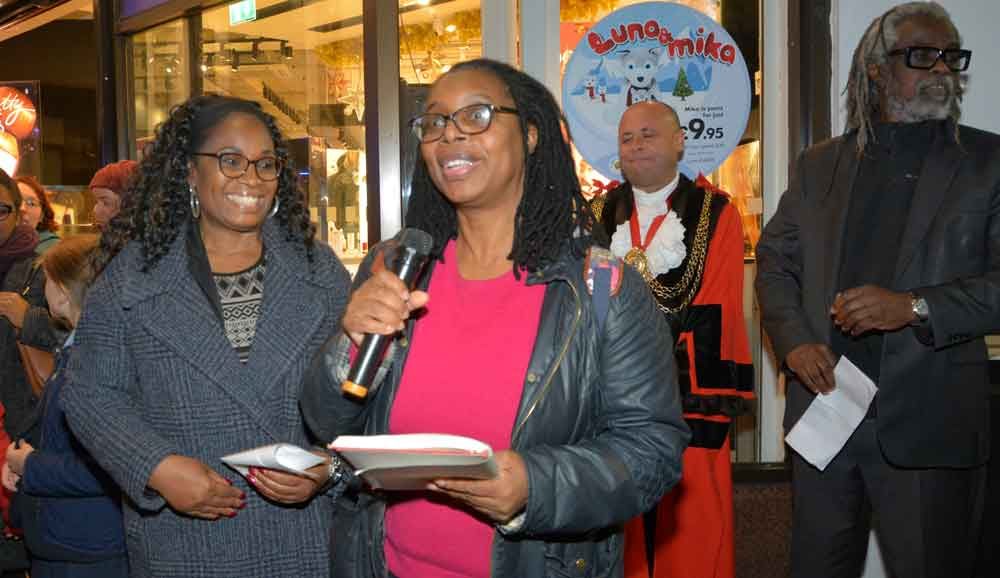 Mosaic member Angela reads her poem
