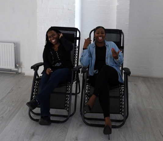 Film & Chill founders Kelechi and Charlene
