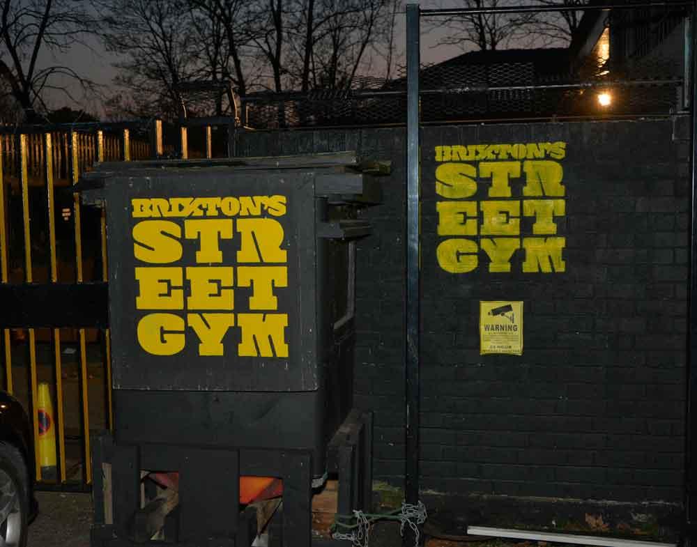 Brixton Street Gym signs