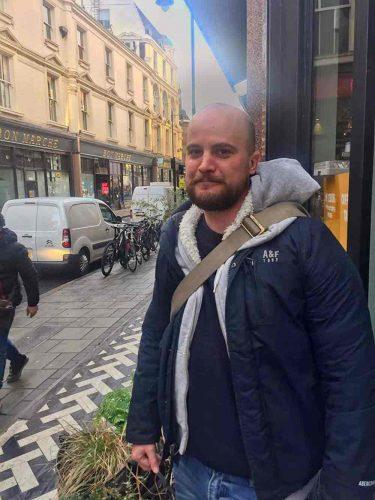 Brixton freelance James