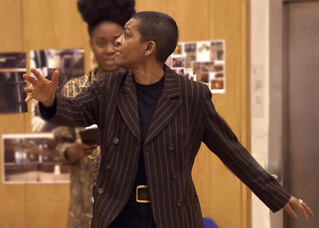 Adjoa Andoh Picture: Ingrid Pollard