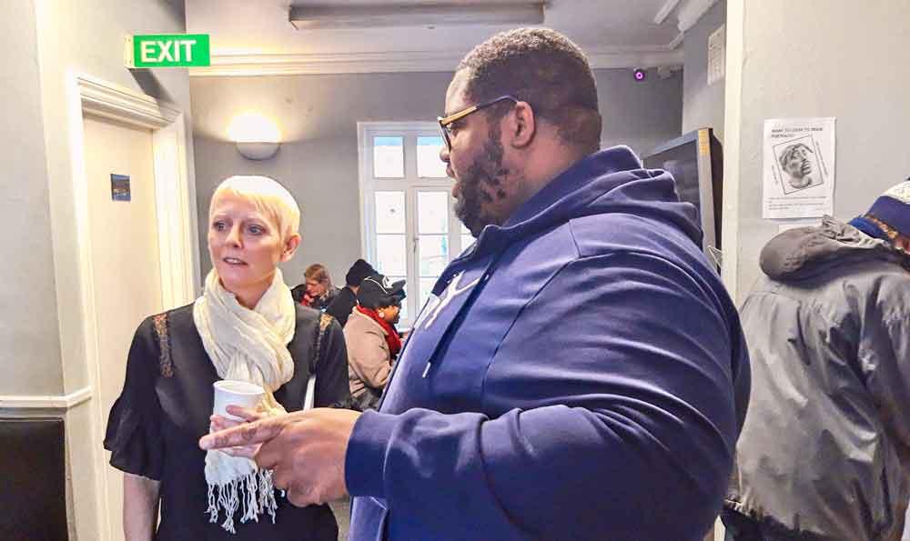 Solomon Smith showed Sarah Jones round the Brixton Soup Kitchen