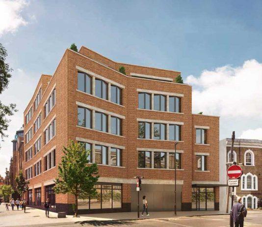 Computer image of Bellefields Road building