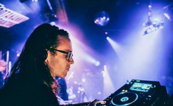 DJ Cal Jader at the Hootananny