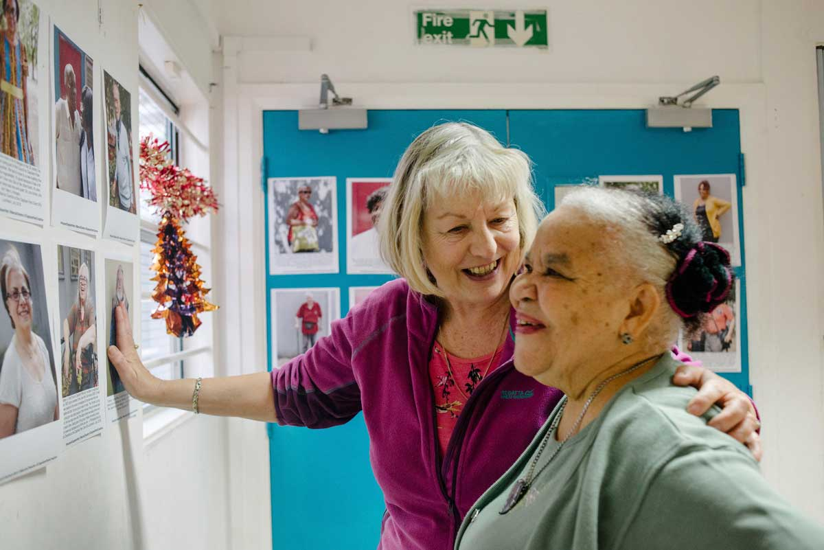 Over 50s project at Clapham Park Creative Co-op