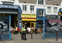 Entrance to Brixton Village on Coldharbour Lane