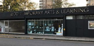 Photo of outside of Contemporary Art & Learning Gallery on Railton Road