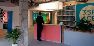 Reception run by 3Space at International House