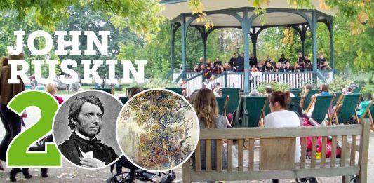 John Ruskin bicentenary event at at Ruskin Park