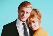 Jane Fonda and Robert Redford in Barefoot in The Park